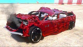 GTA 4 Crash Testing Real Car Mods