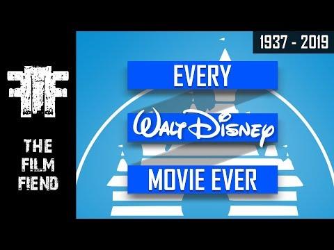Walt Disney Movies (1937 - 2019)   Upcoming Walt Disney Movies   The Film Fiend