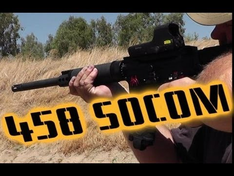 We Shoot the Powerful  .458 SOCOM