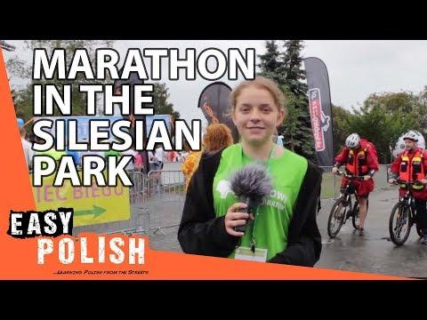 Easy Polish 10 -  Half Marathon In Silesian Park / Park Śląski