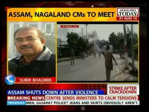 Subir Bhaumik, Journalist ,Assam explains backdrop of current violence