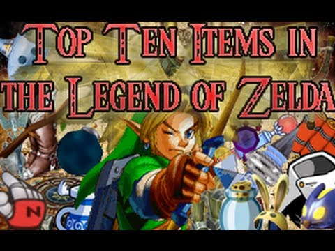 Top Ten Items of The Legend of Zelda! Video