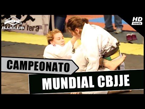 Luiza Monteiro Vs Talita Nogueira – Mundial 2014 CBJJE