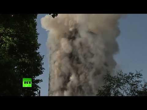 Incendie d'un grand immeuble à Londres, plusieurs morts (Direct du 14.06)