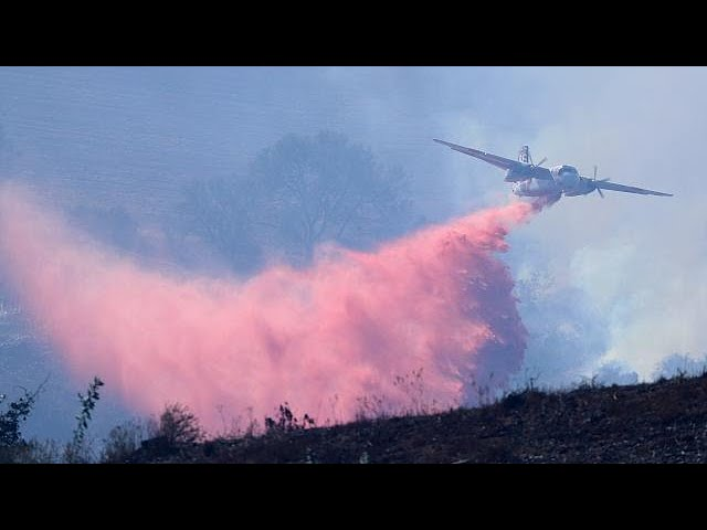 New fires ravage California
