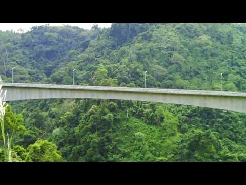 Agas-agas Bridge Midst the Rainforest