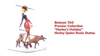"Batman: The Animated Series ""Harley's Holiday"" Premiere Statue from Diamond Select Toys"