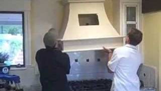 Stone hoods made simple - DIY cast decorative stone hoods