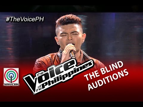 "The Voice of the Philippines Blind Audition ""Paano"" by Daryl Ong (Season 2)"