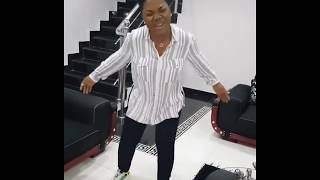 Mercy Chinwo Dancing To Her Song