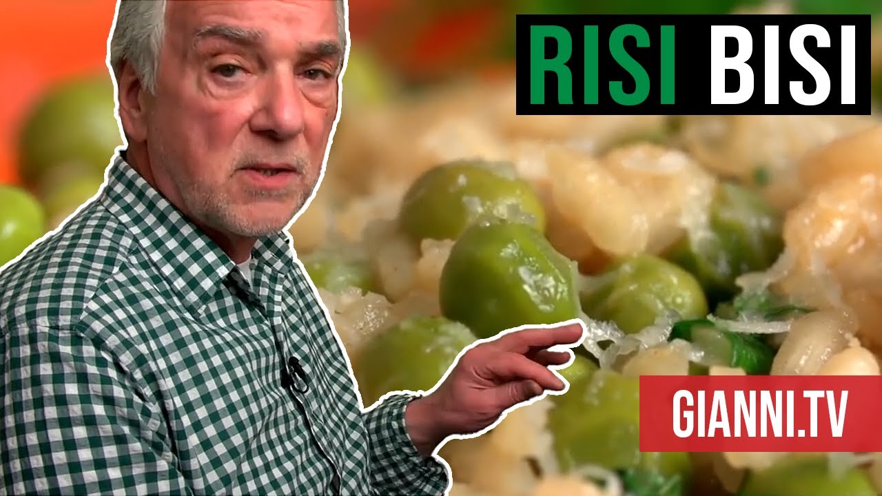 Venetian rice and spring peas: Risi e Bisi, Italian recipe - Gianni's ...