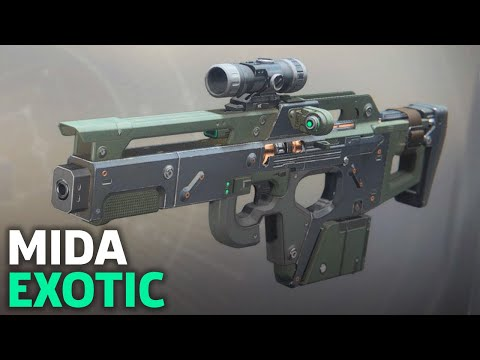 Destiny 2 - How To Get The Exotic MIDA Multi-Tool