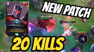 BATMAN JUNGLE 20 KILLS (NEW PATCH) | AoV | 傳說對決 | RoV | Liên Quân Mobile