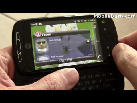 Video: T-Mobile myTouch 3G Slide video tour