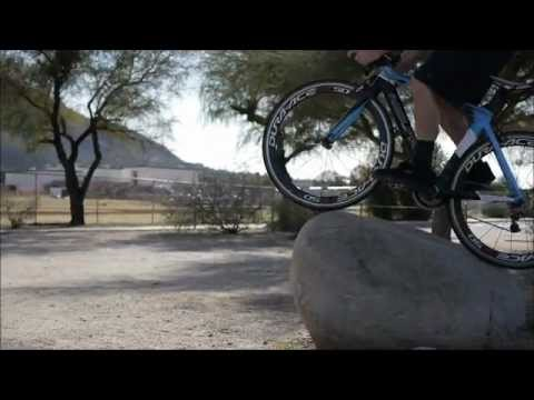 Road bike stunts by Fair Wheel Bikes