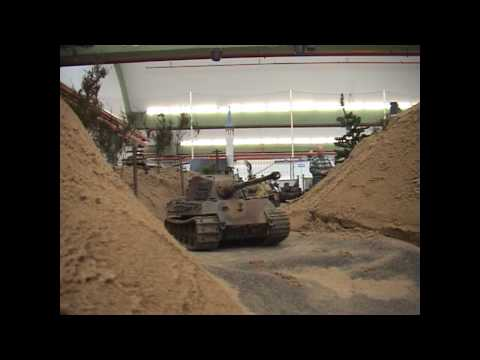 Rheinberg 2008 RC King Tiger Pershing Sherman Tank