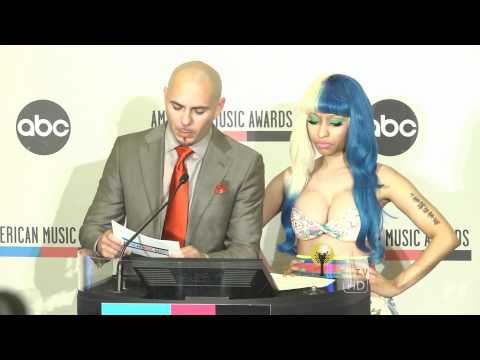 Nicki Minaj & Pitbull announce the 2011 American Music Awards®  Nominees