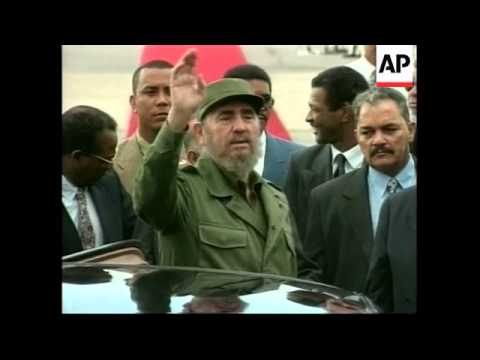 VENEZUALA: FOREIGN ARRIVALS FOR INAUGURATION OF HUGO CHAVEZ