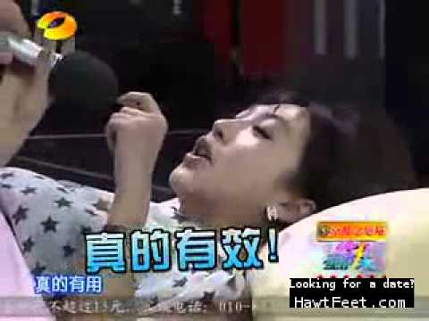 Chinese Tv Show Tickling Game Show video