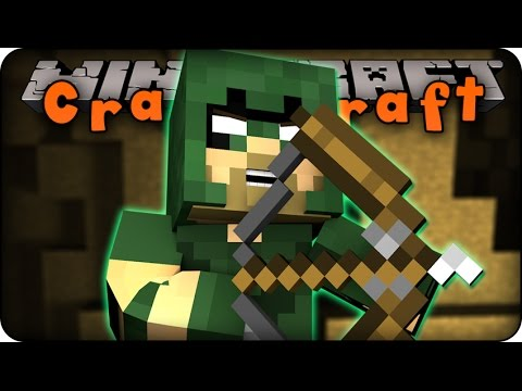 Minecraft Mods CRAZY CRAFT 2.0 Ep # 102 GREEN ARROW Superhero Orespawn Mod