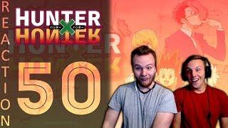 SOS Bros React - HunterxHunter Episode 50 - Escaping Uvogin's Friends