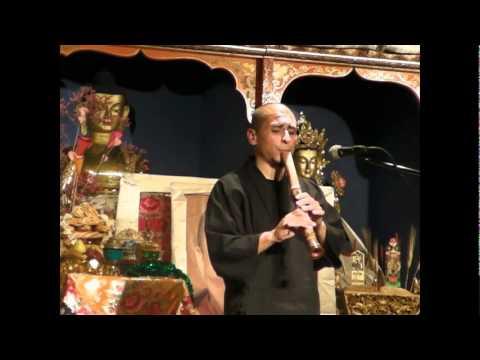 Rodrigo Rodriguez - Rodrigo Rodriguez - Shakuhachi concert Fundacio Casa del Tibet