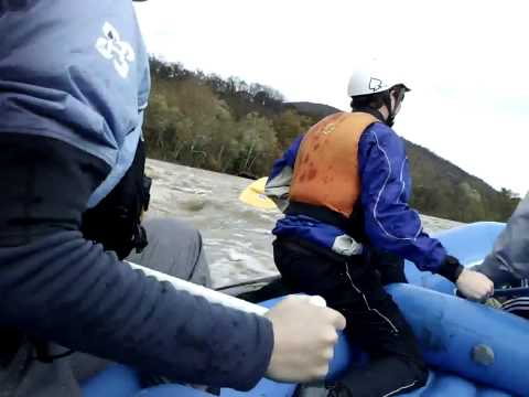 Whitewater Rafting After Hurricane Sandy - Shenandoah 7ft High Water With 14ft On The Potomac