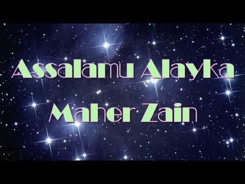 Maher Zain  -  السلام عليك  Assalamu Alayka  (Song & Lyrics) (Arabic Version)