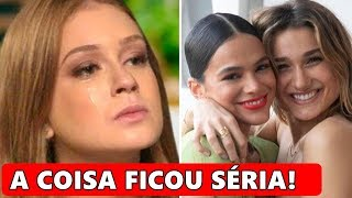 Marina Ruy Barbosa não suporta pressão, tem atitude forte e autoridade será acionada.