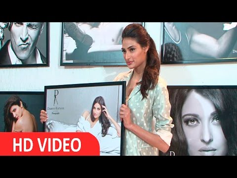 Athiya Shetty At Photographer Dabboo Ratnani 2016 Calendar Launch