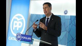 Rueda de prensa de Xavi García Albiol