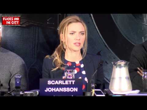 Scarlett Johansson on Black Widow Movie & Avengers 2