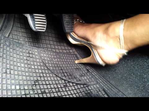 car cranking in high heels 2