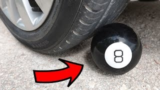EXPERIMENT: CAR vs MAGIC 8 BALL