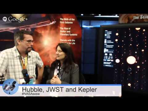 Kepler Visualization Demo and JWST & Hubble @SXSW Recap