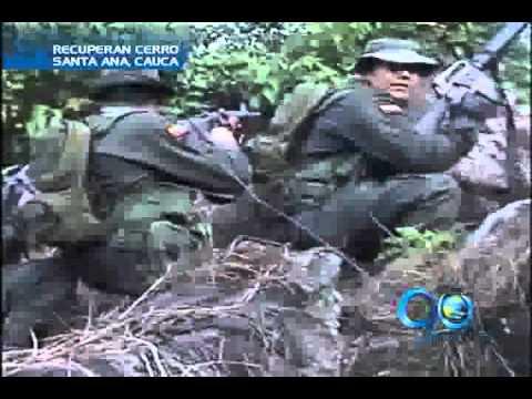 Enero 25 de 2012. Policía retoma el cerro Santa Ana, al norte del Cauca