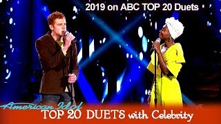 "Jeremiah Lloyd Harmon & Cynthia Erivo ""Time After Time""  | American Idol 2019 TOP 20 Celebrity Duets"
