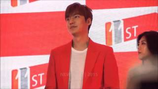 [24-04-2015] Lee Minho (이민호) greets Malaysian fans in Malay at  Grand Launch of 11street in Malaysia