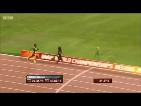 Women's 10,000m Final: Molly Huddle Premature Celebration Goes Wrong IAAF 2015 World Championships