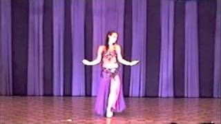 Alia Belly Dancing to Ama Barawa