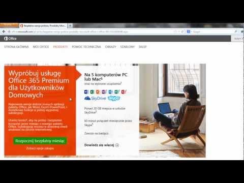 Microsoft Office - Pobieranie darmowej wersji pakietu Microsoft Office
