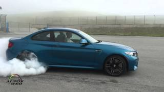 2016 BMW M2 Coupe Burnout at Laguna Seca