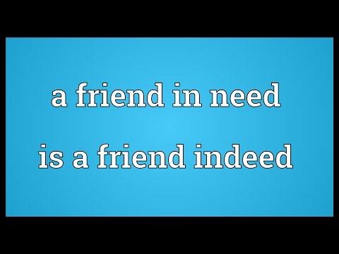 friend in needs a friend in deed essay A friend in needs a friend indeed short essay trends essay usm eng 101 essay territoire film explication essay related post of a friend in needs a friend indeed.