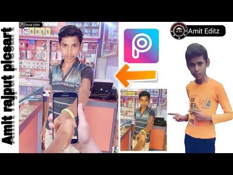 picsart 3D photo editing || out of frame hindi// and you can perfect editing// Amit rajput picsart