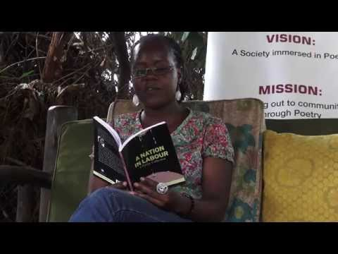 Harriet Anena recites at Love, Romance N'ebigeenderako