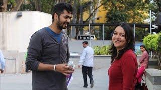 Walking Prank | Tora Tora Kannada Film Promotion | 2016 Prank