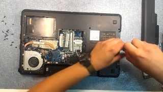 Lenovo G575 Разобрать