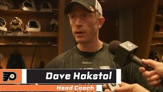 Hakstol on team mentality and preparation for upcoming games - Mar 18, 2017 • 03:11