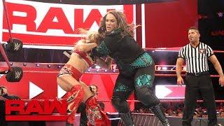 "Nia Jax and Alexa Bliss go to new ""Extremes"": Raw, July 9, 2018"
