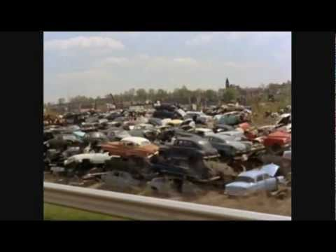 Classic Car Vintage Auto Scrap Yard Of Death